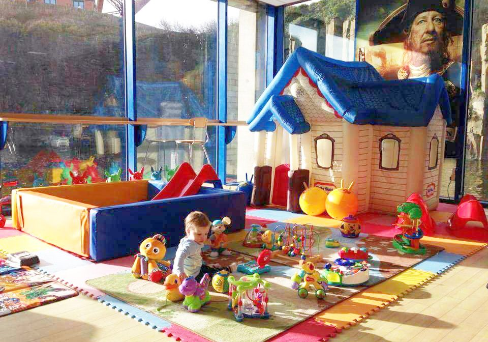 Childrens activity corner